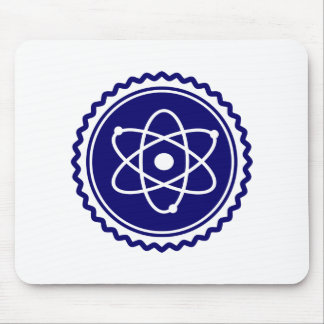 Essential Blue Atomic Model Seal Mouse Pad