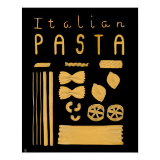 Essential Italy Poster - Italian Pasta
