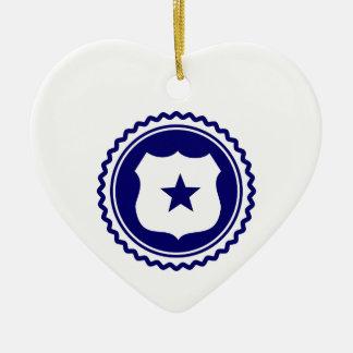 Essential • Law Enforcement Ceramic Ornament