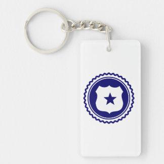 Essential • Law Enforcement Rectangular Acrylic Keychain
