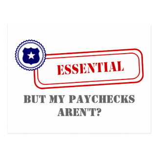 Essential • Law Enforcement Postcard