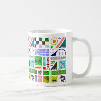 Essential Milton Keynes mug by Robert Rusin