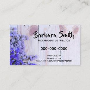 Essential oil business cards templates zazzle essential oil lavender wood business card colourmoves