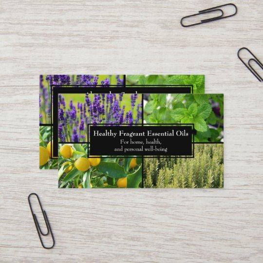 Essential oils business wellness natural herbal business card essential oils business wellness natural herbal business card colourmoves