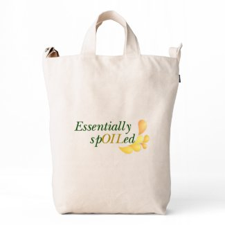 Essential Oils - Essentially Spoiled Tote Duck Bag