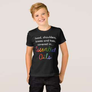Essential oils head-shoulders-knees-and-toes T-Shirt