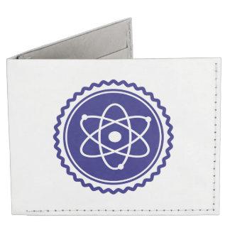 Essential Science Blue Atomic Badge Billfold Wallet