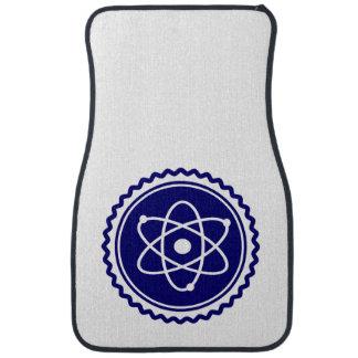 Essential Science Blue Atomic Badge Car Mat