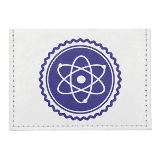 Essential Science Blue Atomic Badge Tyvek® Card Case Wallet