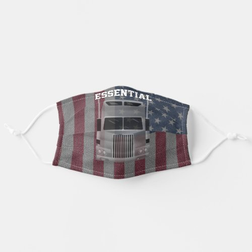 Essential Truck Driver Gift Ideas Cloth Face Mask