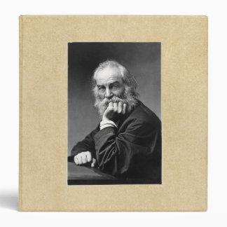Essential Walt Whitman Portrait 3 Ring Binder
