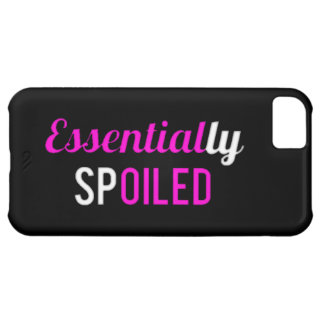 ESSENTIALLY SPOILED IPHONE 5C CASES