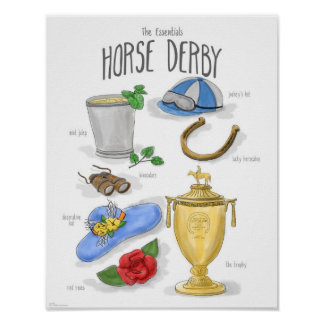 Essentials: Horse Derby Poster