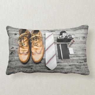 Essentials of a detective throw pillow