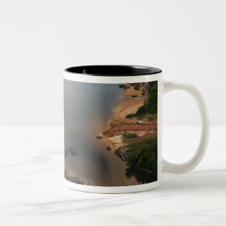 Essequibo River, longest river in Guyana, and 2 Two-Tone Coffee Mug