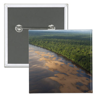 Essequibo River, longest river in Guyana, and 3 Pinback Button