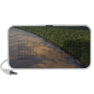 Essequibo River, longest river in Guyana, and 3 Speaker