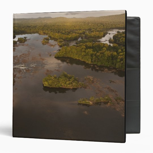 Essequibo River, longest river in Guyana, and 4 Binder