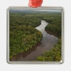 Essequibo River, longest river in Guyana, and 5 Metal Ornament