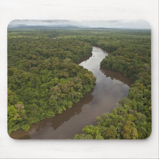 Essequibo River, longest river in Guyana, and 5 Mouse Pad