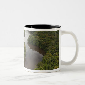 Essequibo River, longest river in Guyana, and 5 Two-Tone Coffee Mug