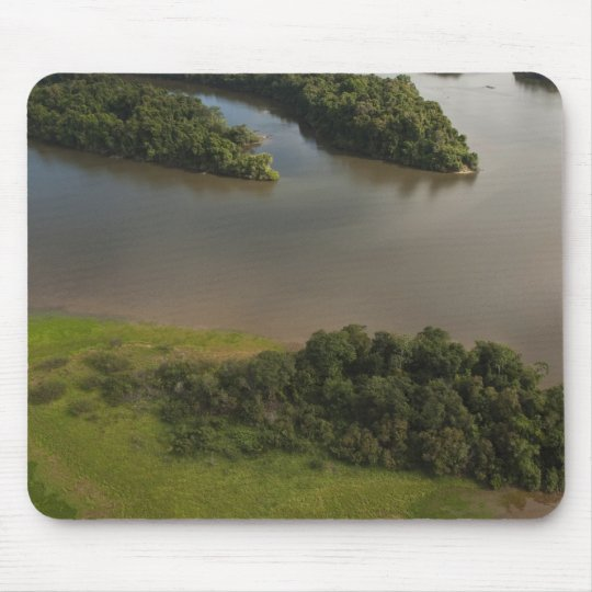 Essequibo River, longest river in Guyana, and Mouse Pad