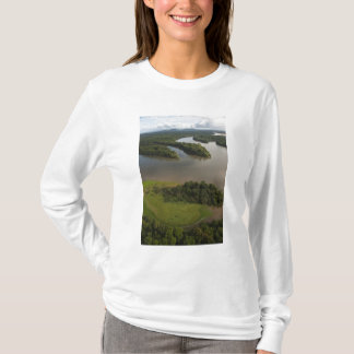 Essequibo River, longest river in Guyana, and T-Shirt