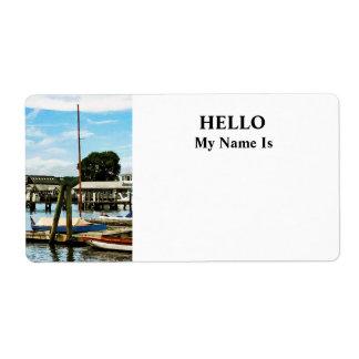 Essex CT Marina Label
