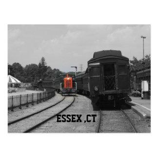 Essex ct station postcard