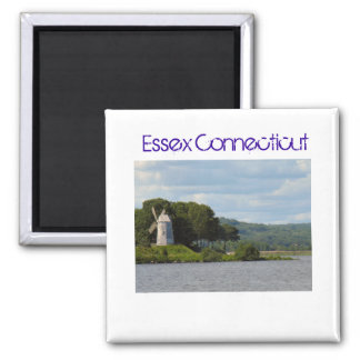 Essex CT Windmill 2 Inch Square Magnet