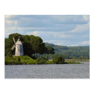 Essex CT Windmill Postcard