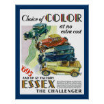 Essex The Challenger Automobile Posters