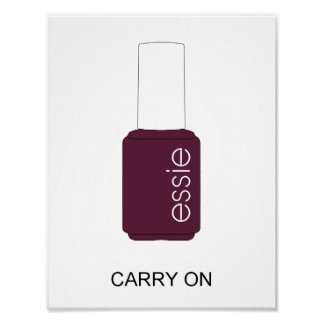 Essie Nail polish - Carry On Poster