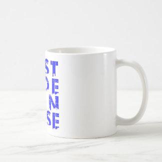 ESSJ ALL BLUE CLASSIC WHITE COFFEE MUG