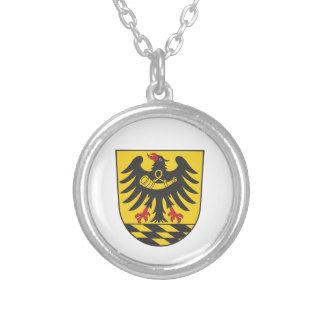 Esslingen district silver plated necklace