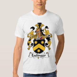Esslinger Family Crest T Shirt