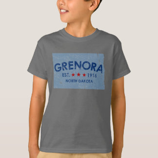 EST 1916 Grenora North Dakota T-Shirt