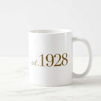 Est 1928 coffee mug