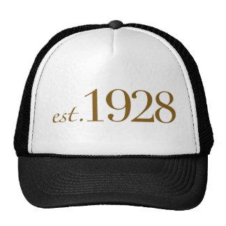 Est 1928 gorras