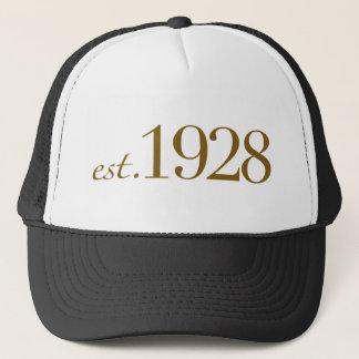 Est 1928 trucker hat