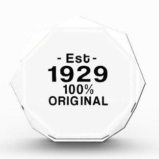 Est. 1929 award