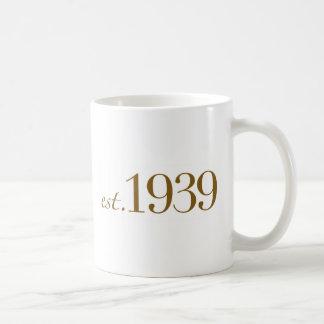 Est 1939 coffee mug