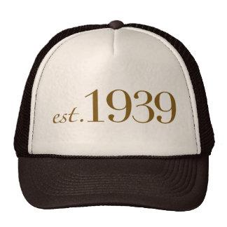 Est 1939 trucker hat