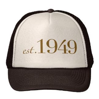 Est 1949 trucker hat