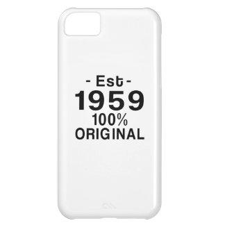 Est. 1959 iPhone 5C cases