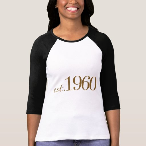 Est 1960 camisetas