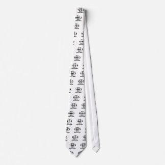 Est. 1963 corbata