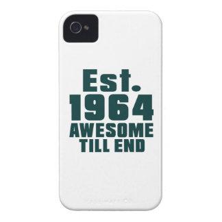 Est. 1964 impresionantes hasta extremo iPhone 4 coberturas