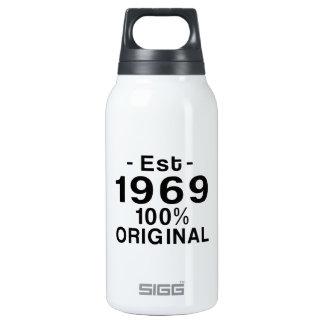 Est. 1969 insulated water bottle