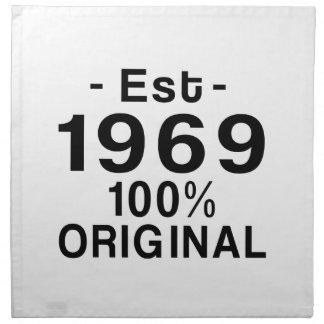 Est. 1969 napkin